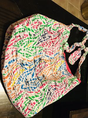 Graffiti Neon Pink, Green, Yellow, Orange, Black and White Hobo Style Purse, Bag, Tote for Sale in Austin, TX