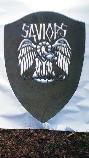 Twd saviors logo steel cutout for Sale in Poca, WV