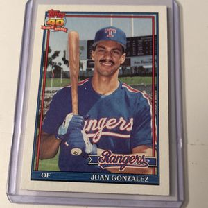 1991 topps Gonzalez rookie card for Sale in Ridge, NY