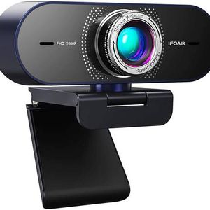 Streaming Webcam with Microphone for Desktop - HD 1080P Webcam with 110° Wide View, Exposure Correction, Plug & Play, Web Camera for Computers, Gaming for Sale in Pomona, CA