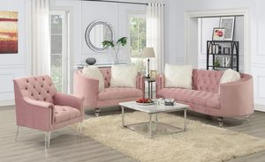 Sofa love and chair take it home with $39 down for Sale in Dallas, TX