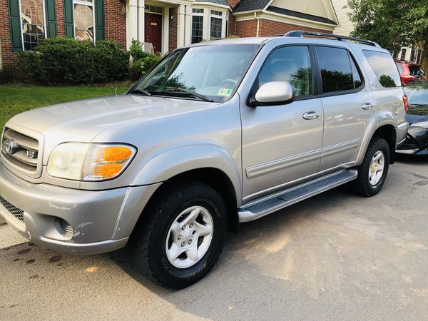 2002 TOYOTA SEQUOIA LIMITED NEW TIRES
