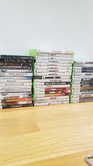 Xbox 360 video games for Sale in San Francisco, CA