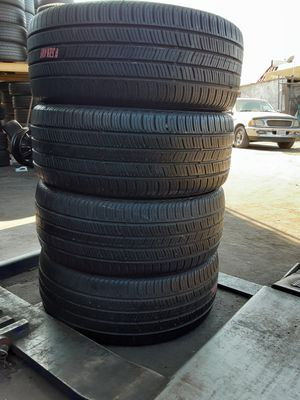 4 CONTINENTAL TIRES 225-50-17 R/FS. for Sale in Garden Grove, CA