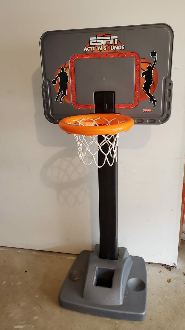 Kids basketball hoop!