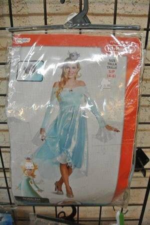 Super Mario Rosalina Adult Halloween Costume Sz Small for Sale in Mesa, AZ
