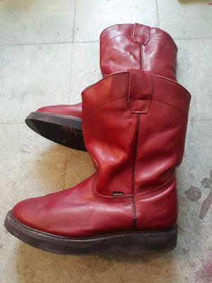 Red - wine Don Vito boots / botas Don Vito rojas guinda for Sale in Chula Vista, CA