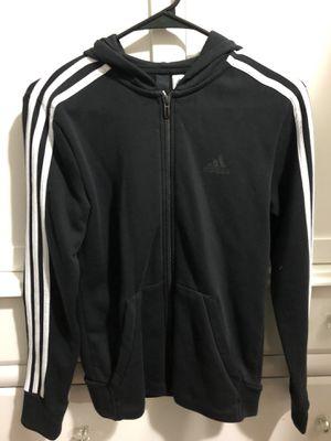 Adidas black zip up hoodie for Sale in North Springfield, VA