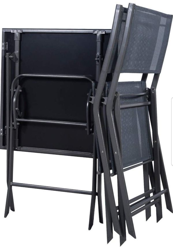 BRAND NEW 3 Piece Patio Set Outdoor Furniture Glass