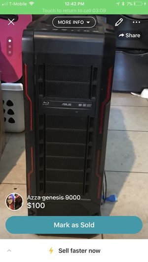 Azza genesis 9000 computer case with blue ray DVD burner for Sale in North Las Vegas, NV