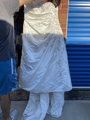 Wedding Dress David Bridal for Sale in Houston, TX