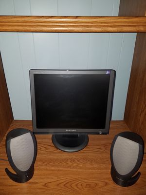 Computer monitor and speakers for Sale in Boston, MA