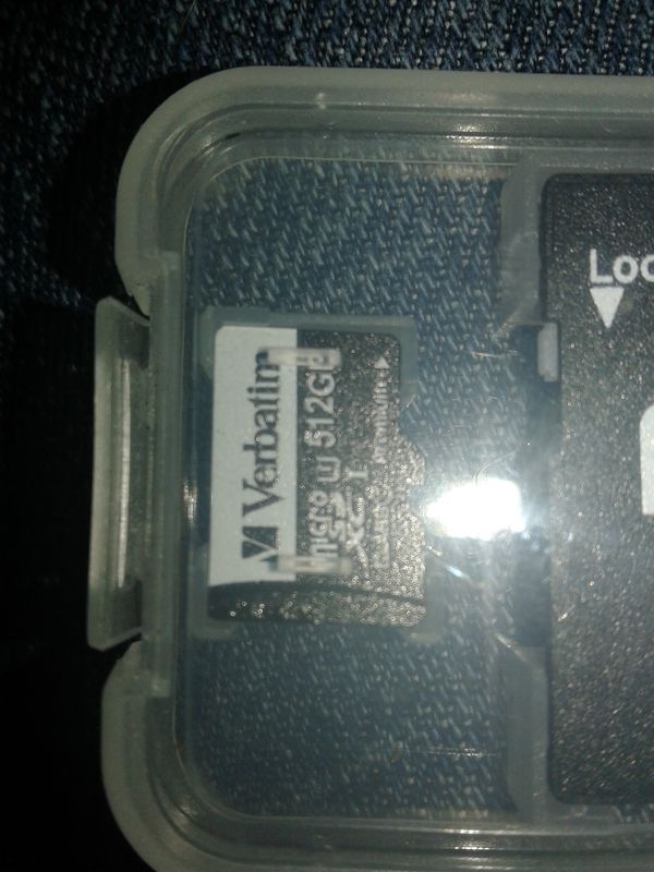 New Verbatim 512GB micro sd card and adapter for Sale in Salt Lake City, UT  - OfferUp