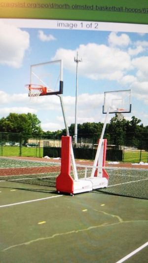 Prtable professional basketball hoop for Sale in North Olmsted, OH