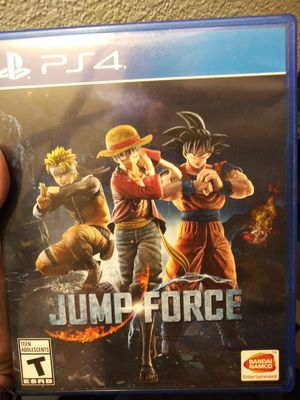 Jump Force PS4. for Sale in Everett, WA