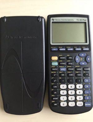 TI-83 plus calculator for Sale in Miami Beach, FL