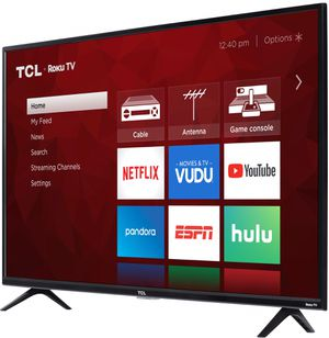 "TCL 43"" CLASS 4-SERIES 4K UHD HDR ROKU SMART TV - 43S423 for Sale in Calimesa, CA"