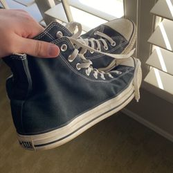 Black All-Star Converse Shoes for Sale in Henderson,  NV