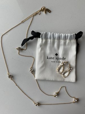 Kate Spade Lady Marmalade Necklace and Earrings for Sale in Washington, DC