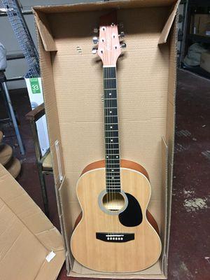 Acoustic Guitar Starter Pack (Guitar, Book, Audio CD, Gig Bag) for Sale in Miami, FL