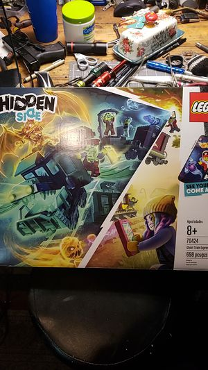 Lego Hidden Side: Ghost Train Express for Sale in Fresno, CA