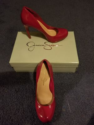 Jessica Simpson hot pink shoes / 7 for Sale in Wichita, KS