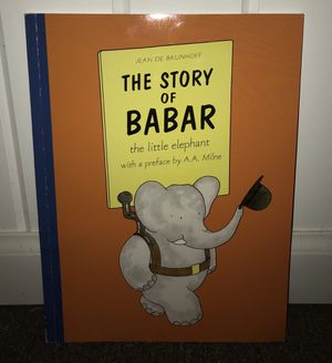 The Story of Babar the Little Elephant by Jean de Brunhoff for Sale in Hillsdale, NJ