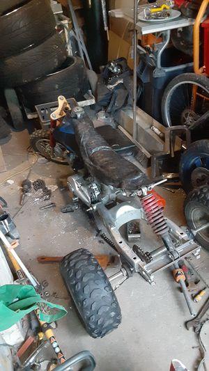 90cc dirt bike into trike project for Sale in Collinsville, IL