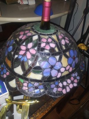 Antique glass lanp shade for Sale in Lakeland, FL