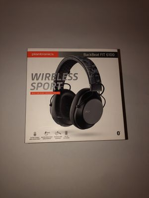NIB Plantronics BackBeat FIT 6100 Wireless Sports/Fitness Over-Ear BT Headphones for Sale in Windsor Mill, MD