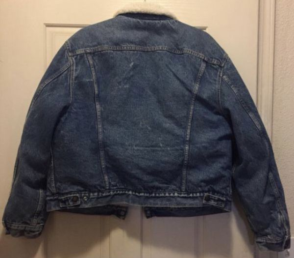 Vintage Levis Jean Jacket Sherpa Lined Mens 50r For Sale In Stockton Ca Offerup