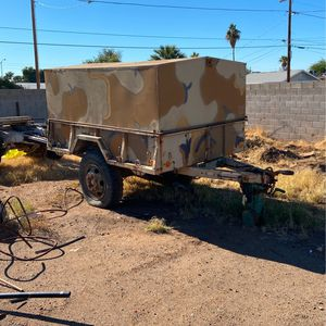 Military Trailer With A Custom Removable Hard Top for Sale in Mesa, AZ