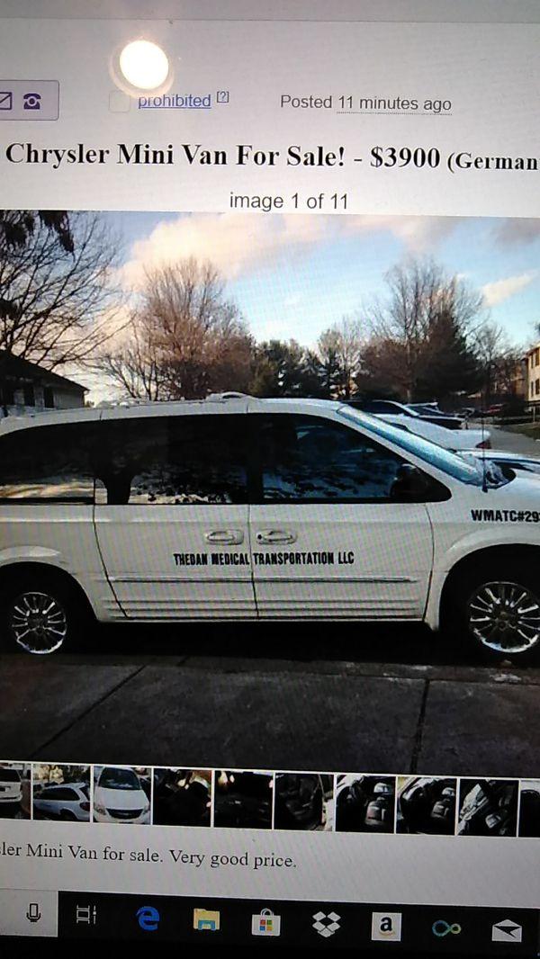 2002 Chrysler Mini Van Minivan