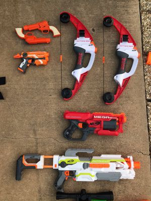 Nerf toys, vests, Minecraft for Sale in Copper Canyon, TX