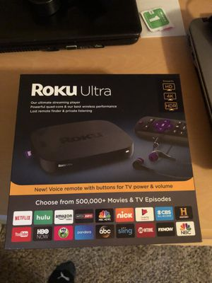 Brand new roku ultra for Sale in Charlotte, NC