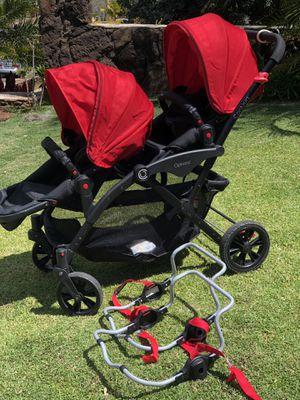 Options contour double stroller for Sale in Kapolei, HI