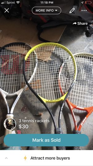 Tennis rackets for Sale in Palm Harbor, FL