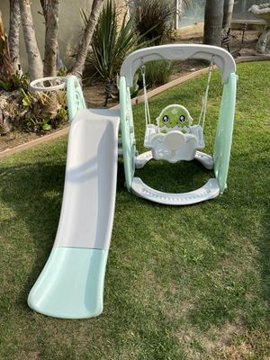 Kids climber, slide, swing set for Sale in Newport Coast, CA