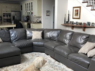 Leather Sectional Sofa for Sale in Philadelphia,  PA