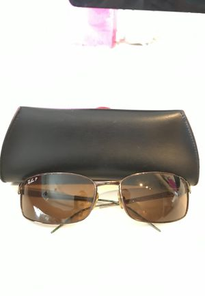Metal polarized raybans. Just need ends which are free at sunglasses hut. Chip on top right lense for Sale in Austin, TX