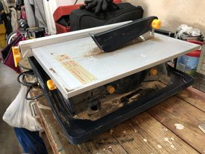 "GMC 7"" Wet Tile Saw for Sale in Round Rock, TX"