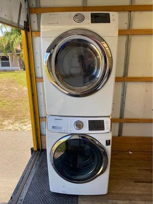 1 1/2 Year Old Samsung Heavy Duty Super Capacity Washer & Dryer Set Cost $2,300 for Sale in Strongsville, OH