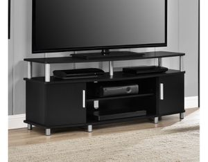 """NEW in Box, Black Carson TV Stand fits up to 50"""" for Sale in Houston, TX"""
