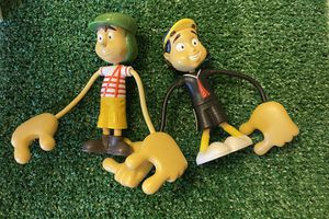 RARE TOY MEXICAN FIGURINES CHAVO DEL OCHO TINYKINS MADE IN MEXICO for Sale in El Paso, TX