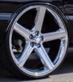 26 inch rims New tires for Sale in Winter Haven, FL