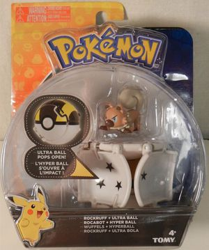 Pokemon RockRuff + Ultra Ball for Sale in San Antonio, TX