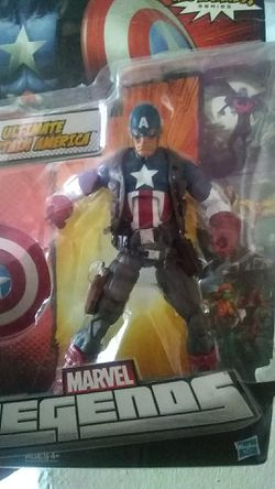 Capitan America of marvel legends for Sale in Stockton,  CA