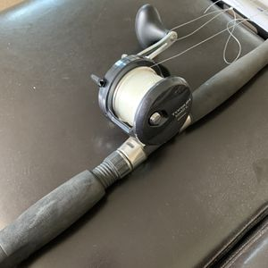 Shimano Torium 16 HG L Fishing Reel & Shimano Tallus Fishing Rod for Sale in Huntington Beach, CA