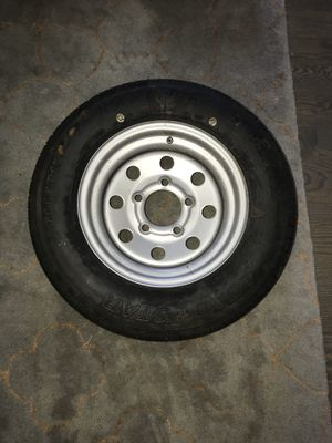 Trailer Rim and Tire for Sale in Chicago, IL