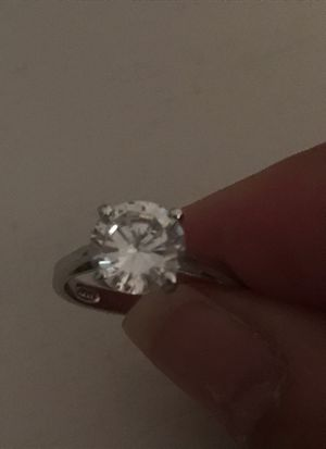 Beautiful solitaire diamond ring for Sale in Wallingford, CT